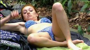 Georgina nackt im Dschungelcamp Video HD