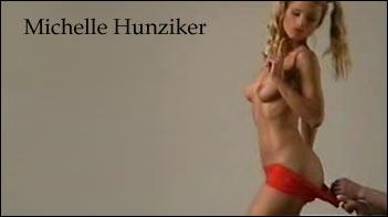 Michelle Hunziker nackt Video und Desiree Nick Cameltoe