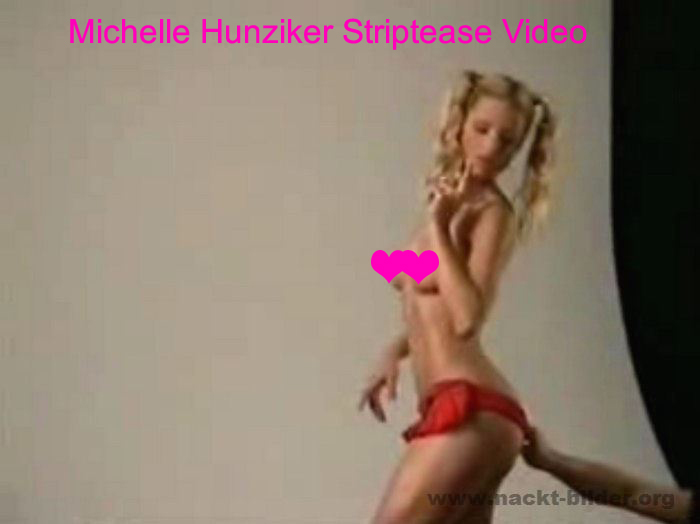 Michelle Hunziker nackt Video und Desiree Nick Cameltoe