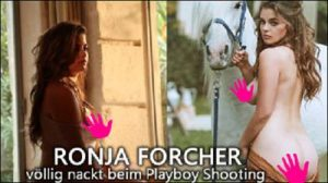 ronja forcher nackt video playboy